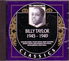 BILLY TAYLOR 1945-1949 Classic 40s Big Band TAKE THE A TRAIN NIGHT DAY Rare OOP