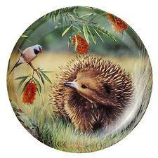 Australian Souvenir Ashdene Fauna of Australia Echidna & Finch Trinket Dish