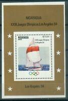 Nicaragua Block 147  , ** , Olympische Spiele 1984