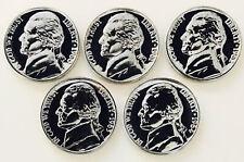 1960-64 Jefferson Proof Nickels! Incredible Gems! Best Of The Best!Nr #1042_673