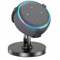 Bovon Table Holder for Echo Dot 3rd Generation, 360° Adjustable Stand Bracket