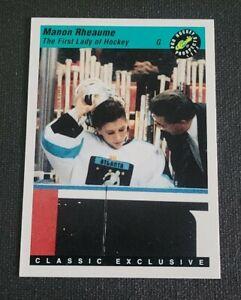1993 Classic Pro Prospects #6 Manon Rheaume