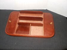 GIGLIODORO  LEATHER  ORGANIZER  WITH  SUEDE  LINING HANDCRAFTED IN ITALY
