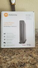 MOTOROLA MG7310 343 Mbps DOCSIS 3.0 N300 Cable Modem with Wi-Fi Gigabit Router