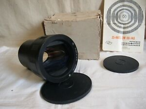 Anamorphic LOMO 35-NAP2-3M 80-140mm Movie Projector Lens EXC!
