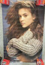 1988 SEALED YOUNG ALYSSA MILANO Sweater Original Poster Rare Vintage PC0947