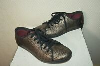 CHAUSSURE BASKET FRED PËRRY CUIR TAILLE 39 I UK 6