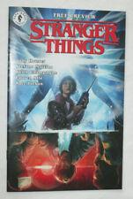 Stranger Things Ashcan Preview Comic Book Dark Horse Netflix