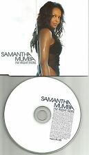 SAMANTHA MUMBA & DAMIAN MARLEY I'm Right Here UK & US vers UK PROMO DJ CD Single