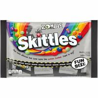 "ZOMBIE ""ROTTEN"" SKITTLES, HALLOWEEN Candy, Bite Sized Candies, Sealed 10.5oz bag"