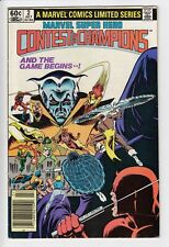 MARVEL SUPER HERO CONTEST OF CHAMPIONS #2 1982