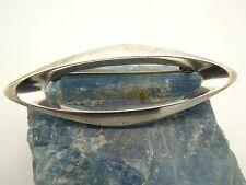 Vintage 1960's Signed Poul Warmind Modernist Sterling Silver Denmark Pin Brooch