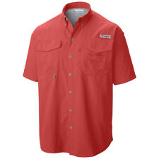 Columbia Bahama II Short Sleeve Big Shirt - Choose Sz/color Sunset Red XL