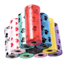 Degradable PETS Waste Poop Bags Home Clean Up Refill Garbage Bag 10Roll 150pcs