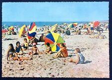 Vintage postkaart Belgische kust / strand / zee / kinderen / Thill / Nels
