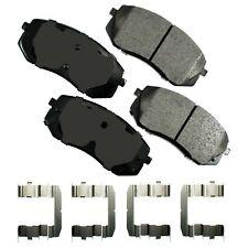Disc Brake Pad Set-Proact Ultra Premium Ceramic Pads Front Akebono ACT1295