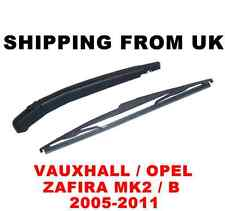 REAR WINDOW WINDSHIELD ARM BLADE WIPER KIT SET VAUXHALL OPEL ZAFIRA MK2 B MPV