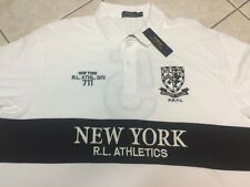 POLO RALPH LAUREN Big & Tall Classic Fit Oxford New York Rugby 2XB NWT $125