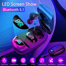 Mini Bluetooth 5.1 Earbuds Tws Wireless Headset Earphones Stereo Dual Headphones