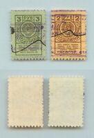 Russia RSFSR 1923 2 rubl, 3 rubl used passport tax revenue. g782