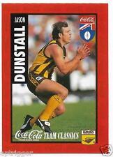 1995 Coca Cola Team Classics (10) Jason DUNSTALL Hawthorn