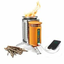 Biolite Energy CampStove and Iphone and USB Charger, Camp Stove, Cooking