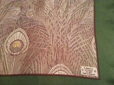 VINTAGE LIBERTY HERA DESIGN HAND ROLLED SILK SCARF.  35 x 33 INCHES.  LOVELY!