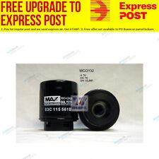 Wesfil Oil Filter WCO132 fits Volkswagen Polo 1.2 TSI (6C,6R),1.4 GTI (6C,6R)