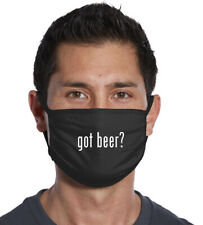 Got Beer? Three Ply Cotton  Face Mask USA Made FAST SHIPPING