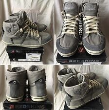 BASKETS SNEAKERS SHOES DIESEL MID GREY UK 7