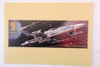 GREAT BRITAIN ROYAL MAIL PHQ STAR WARS CARD X-WING STARFIGHTERS