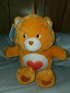 "Care Bear 13"" 2002 20th Anniversary Tenderheart Bear W/Tags"