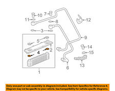 Saturn GM OEM 02-03 Vue 3.0L-V6 Oil Cooler-Spacer Plate Lower Seal 90409175