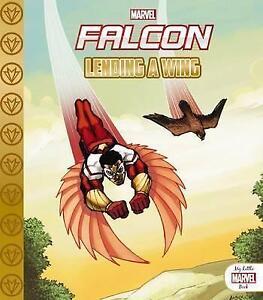 *BRAND NEW* MARVEL FALCON: LENDING A WING (Childrens book, Super Hero)