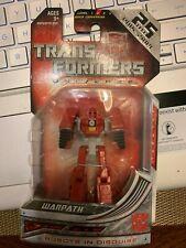 Transformers Universe Classics Legends Class 25th Anniversary Warpath LQQK NEW!!
