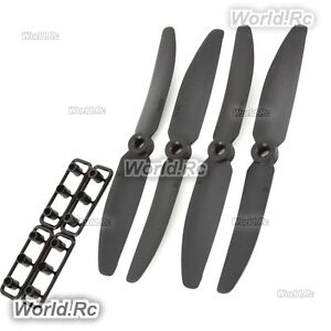 Black 5030 5030R blades Quadcopter propeller for 250 multicopter (ABS) CW&CCW