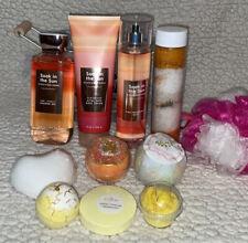 NEW Bath & Body Works SOAK IN THE SUN 12 Piece Spa Bath Gift Set