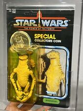 AFA 85 Kenner 1985 Star Wars Amanaman POTF 92-back Y-NM+ (85-85-85) Case Fresh