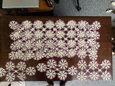 Lot Of Vintage Crochet Table Runners Dresser Covers