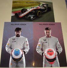 F1 2015 FORMULA ONE GRAND PRIX-MCLAREN HONDA MP4-30 Alonso-Scheda Pulsante Set