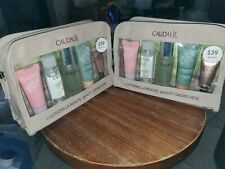 LOT OF 2 - Caudalie Beauty Grows Here 5 Piece TRAVEL GIFT SET NEW