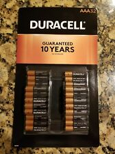 32 AAA Duracell Batteries, Guaranteed 10 Years in Storage, Exp March 2027