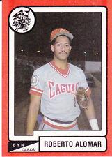 ROBERTO ALOMAR CRIOLLOS DE CAGUAS 1988-89  PUERTO RICO #C2 #34OF192 HALL OF FAME