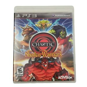 PS3 Chaotic: Shadow Warriors Video Game (Complete, 2009)