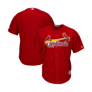 St Louis Cardinals Majestic Mens Red Alternate Cool Base Team Jersey Size 3XL
