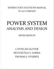Solution Manual Power System Analysis and Design 5th Overbye Glover Sarma