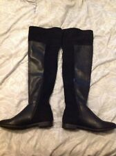 Ladies Lovely Over the Knee BOOTS - Size 6