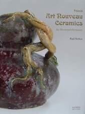 LIVRE/BOOK : ART NOUVEAU CÉRAMIQUE FRANCAISE (poterie,french ceramics,pottery