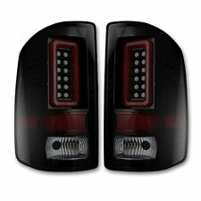 RECON 264239BK GMC Sierra 14-16 Smoked-Red Tail Lights LED