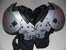 "Schutt Jr. Blocker Football Shoulder Pads 2X SMALL 10""-11"" with Rib Protector"